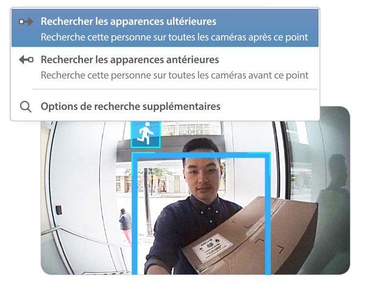 Interface de l'interphone vidéo