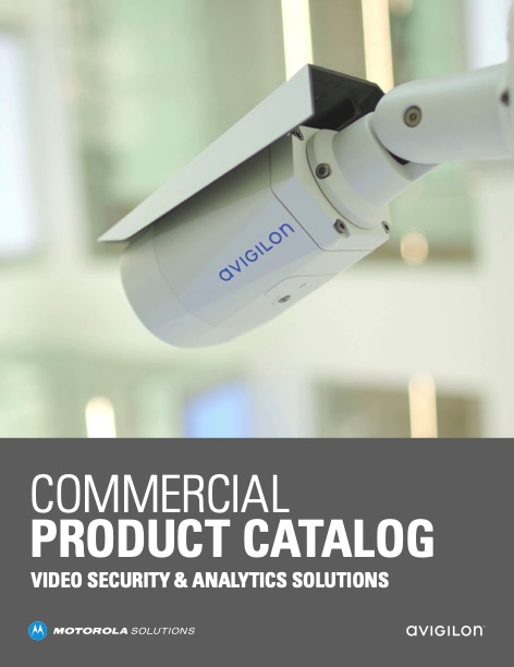 Motorola Video Security and Analytics Solutions Commercial Products Catalog